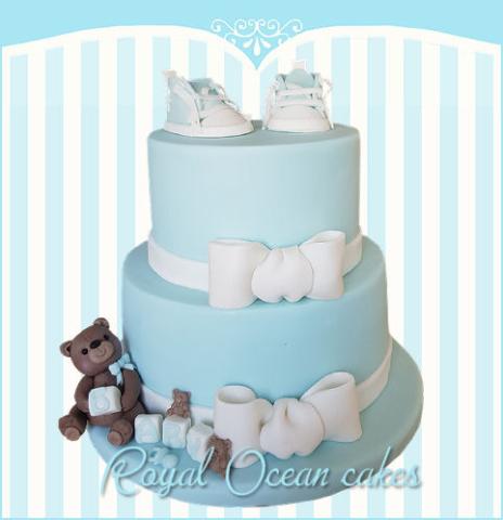 babybeer taart