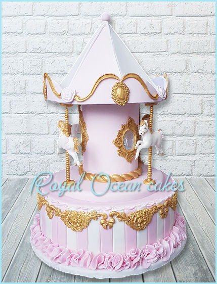 Carousel taart
