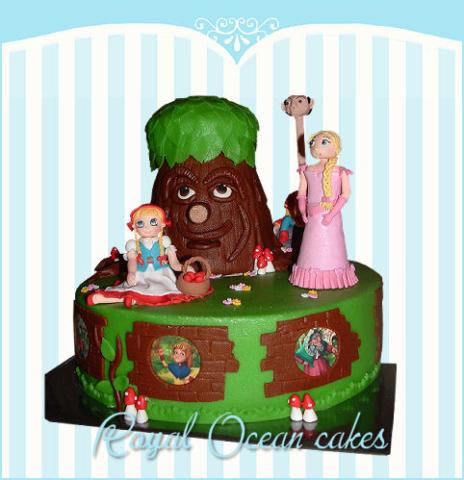 sprookjes taart