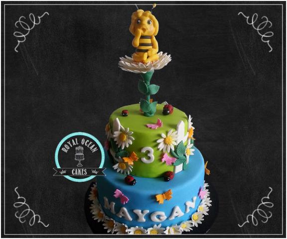 Maya de bij taart