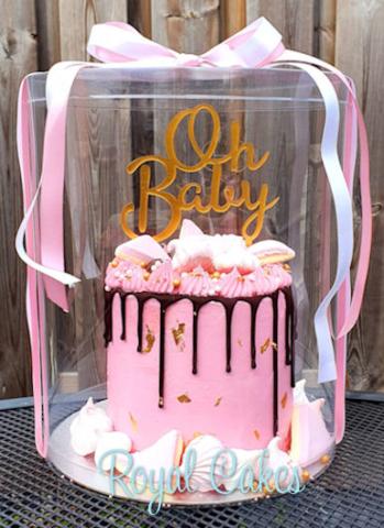 taartstolp Baby drip taart