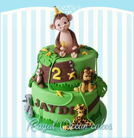 Jungle aap taart