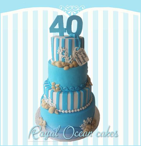 40 jaar taart
